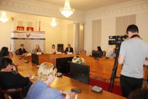 Состоялась пресс-конференция по предварительным итогам голосования на выборах депутатов Смолоблдумы