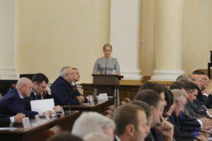 Председатель облизбиркома вручила удостоверения избранным депутатам Смоленской областной Думы