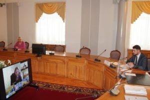 Облизбирком провел совещание со специалистами сектора по работе с территориями