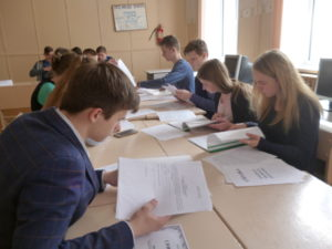 В Смоленском районе продолжает свою работу проект «Школа будущего избирателя»
