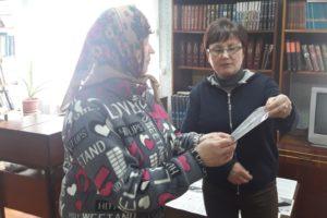В Монастырщинском районе прошел час правовой информации «Что мы знаем о выборах?»