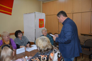 В Руднянском районе продолжается обучение членов УИК