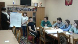 Состоялось заседание дискуссионного клуба «Молодежная инициатива»