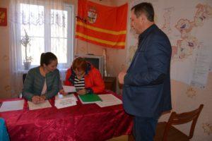 В Руднянском районе продолжается обучение организаторов выборов