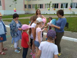 Дети с ограниченными физическими возможностями г. Десногорска приняли участие в праздновании Дня защиты детей