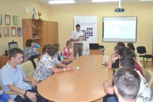Интеллектуальная игра прошла в Реабилитационном центре «Вишенки»