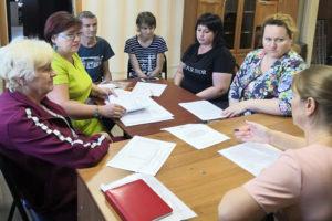 В Сафоновском районе прошло обучение членов УИК