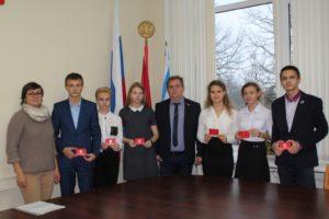 Сформирован новый состав молодежного избиркома Вяземского района