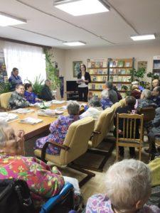 В Ярцевском районе Смоленской области представители облизбиркома встретились с избирателями, являющимися инвалидами