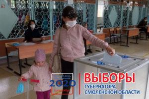 #Выборы2020: К 15:00 явка избирателей  на территории Смоленской области составила 24,39%