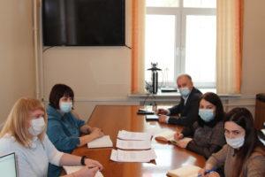 Облизбирком провел совещание с сектором по работе с территориями