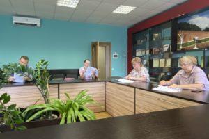 Состоялось очередное заседание Ленинского территориального избиркома