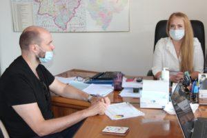 Облизбирком принял документы для выдвижения от кандидата в депутаты Госдумы Войтова Алексея Михайловича