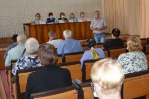 Председатель территориального избиркома принял участие в заседании Совета по проблемам инвалидов и граждан пожилого возраста